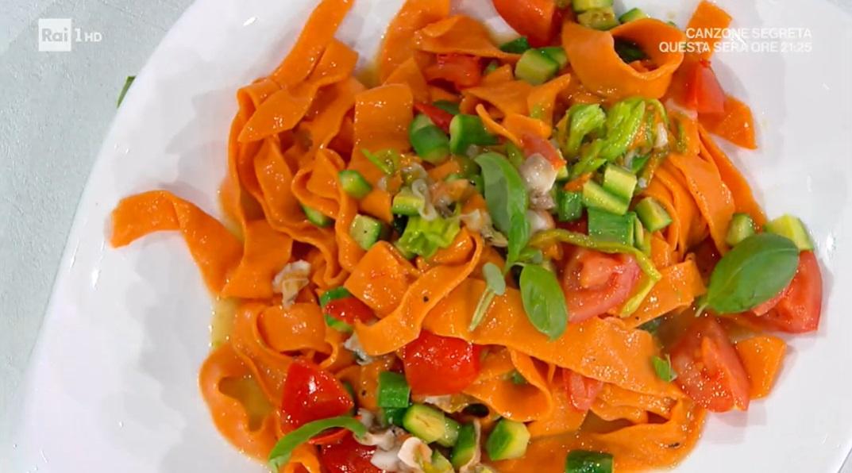 piccagge rosse con zucchine e fasolari di Ivano Ricchebono