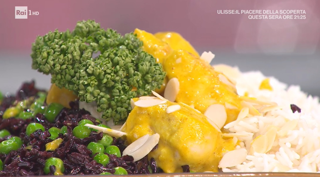 bocconcini di pollo al curry di Gian Piero Fava