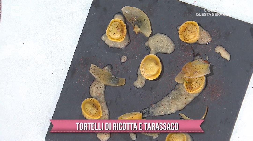 tortelli di ricotta e tarassaco dei gemelli Robelli