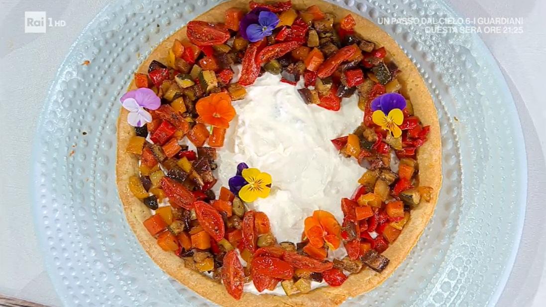 crostata salata  di zia Cri
