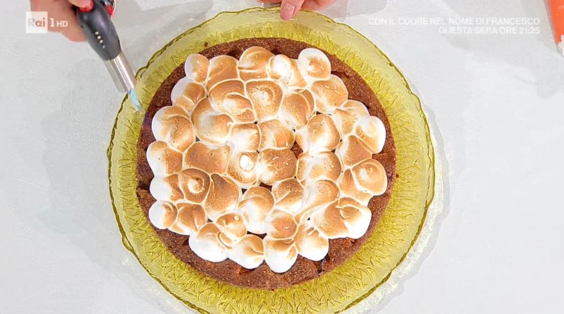 torta soffice alle albicocche