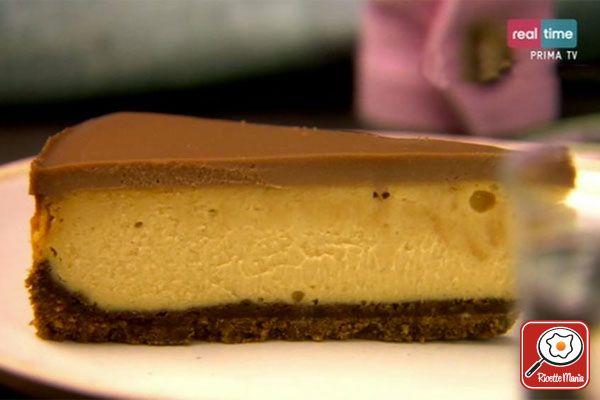 Ricetta Cheesecake al cioccolato e burro di arachidi