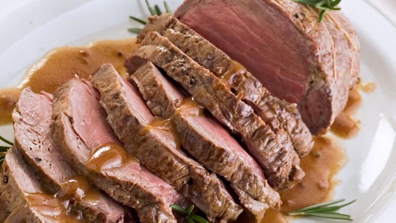 Arrosto di vitello con salsa ai carciofi  Ricette Bimby