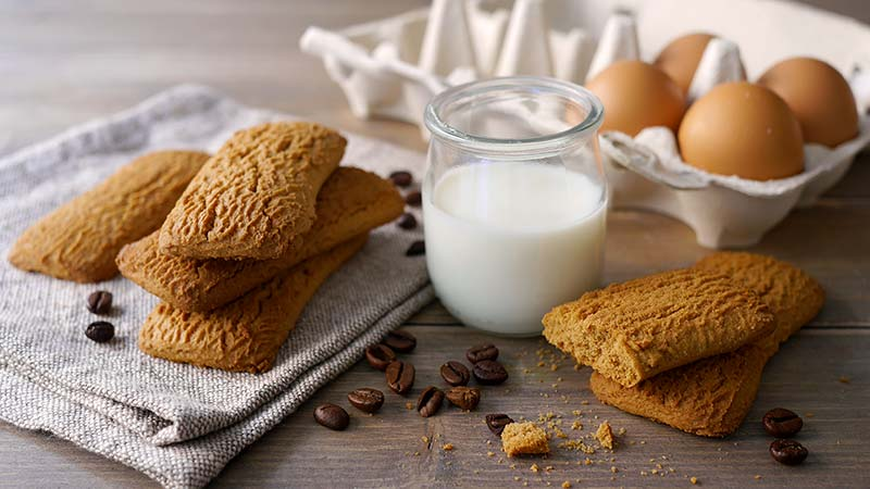 Biscotti semplici al caff  Ricette Bimby
