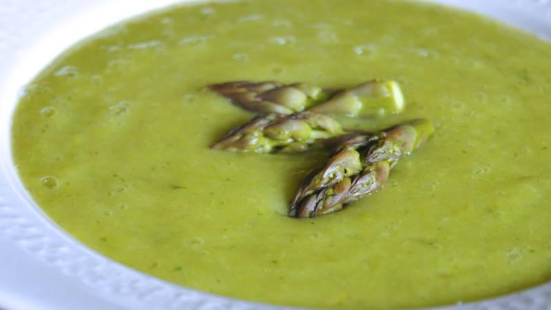 Crema di asparagi vegan  Ricette Bimby