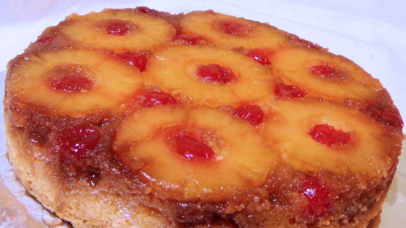 Torta ananas rovesciata  Ricette Bimby