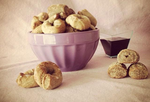 biscotti vino spezie spicy wine cookies