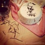 Ricotta di soia affumicata con alghe arame | Soy smoked ricotta cheese with arame