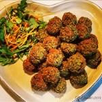 Polpette di ceci e fave (senza glutine) | Fava bean falafel (gluten free)