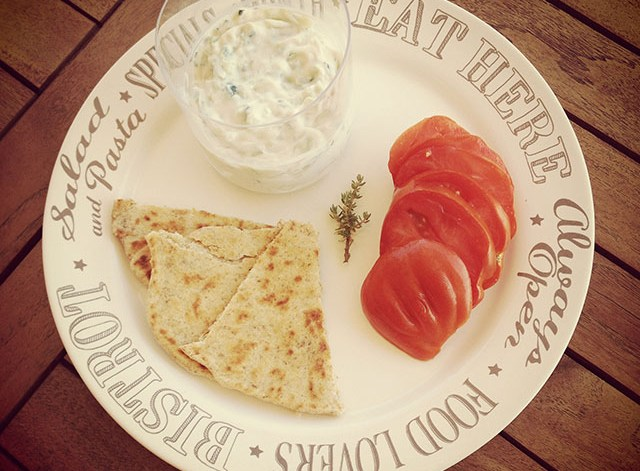 tzatziki vegan cucumber yogurt dip
