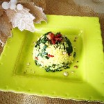 Tortino di miglio e spinaci in agrodolce | Sweet-and-sour millet with spinach