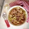 tagliatelle vegan castagne cavolo funghi fresh pasta chestnut flour cabbage mushroom