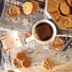 Biscotti di ricotta e avena al sale rosa | Oat ricotta digestive cookies