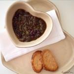 Cacciucco di ceci neri | Tuscan black chickpea soup