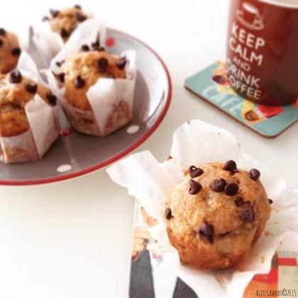muffin cioccolato vegan chocolate banana muffin