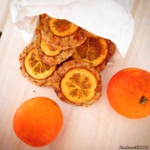 biscotti arancia semi di chia orange cookies