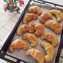 brioches croissant multicereali vegan