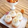 meringa in barattolo albicocche apricot meringue jars