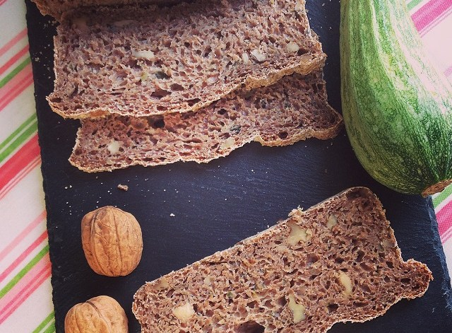 pane integrale noci zucchine whole wheat zucchini bread