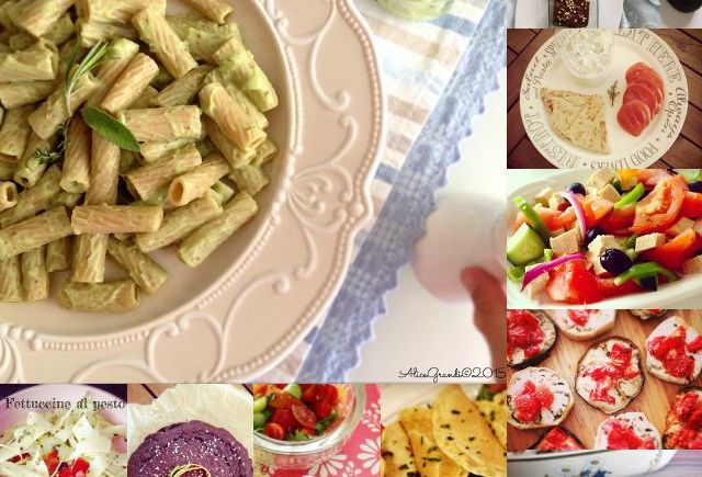 ricette estive vegetariane vegan summer recipes
