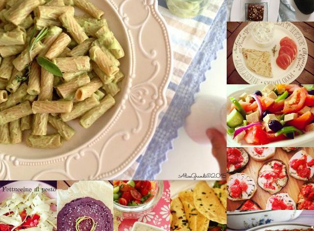ricette estive vegetariane vegan summer recipes