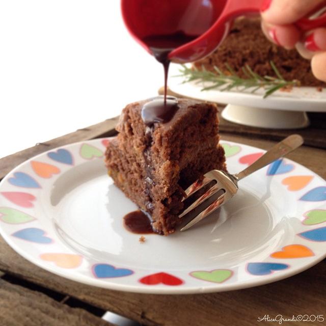 torta cioccolato senza latte burro uova arancia rosmarino best chocolate vegan cake