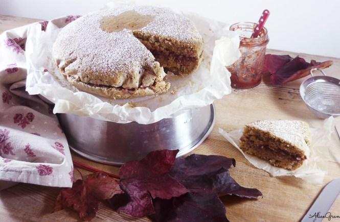 torta soffice nocciole vegan hazelnut cake