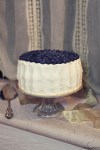Torta con glassa allo yogurt e mirtilli Blueberry cardamom cake yogurt frosting