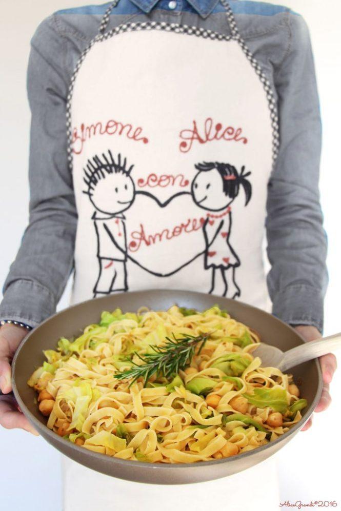 Tagliatelle-farro-verza-ceci-vegan-spelt-chickpea-pasta