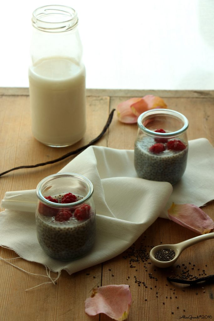 budino semi chia pudding