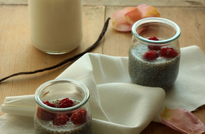 budino semi chia pudding