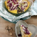 Lasagne vegetariane radicchio e funghi | Easy vegetarian lasagna with radicchio and mushrooms