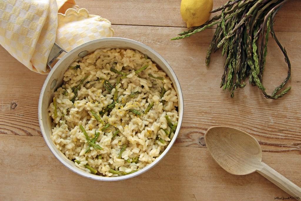 Risotto-asparagi-limone-vegan
