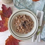 Tagliatelle di castagne (senza uova) | Chestnut flour pasta {vegan recipe}