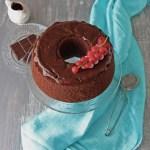 Torta fluffosa al cioccolato senza glutine | Gluten free chocolate chiffon cake