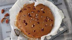 torta-caffè-noci-coffee-walnut-cake-vegan