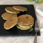 Pancake salati fit di zucchine   Healthy zucchini pancakes