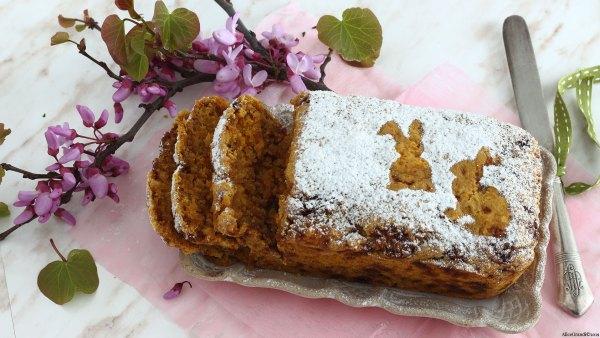 Torta di carote e mandorle vegan senza glutine (Torta Camilla)