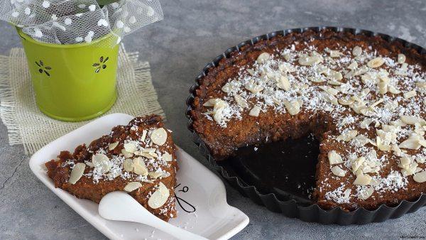 torta-vegana-senzaglutine-proteica-cocco