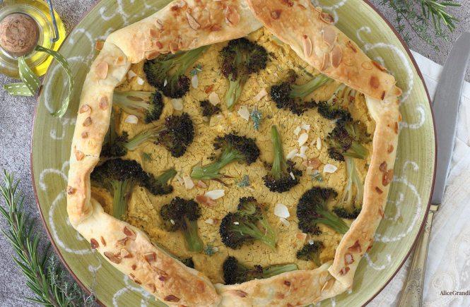 torta-salata-broccoli-ceci-vegan