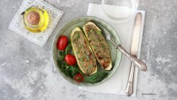 zucchine-ripiene-vegetariane-alforno-light