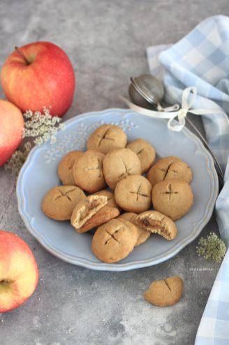 biscotti-cuor-di-mela-senza-burro-vegan-fit