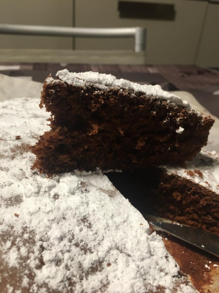 Torta al cioccolato morbida