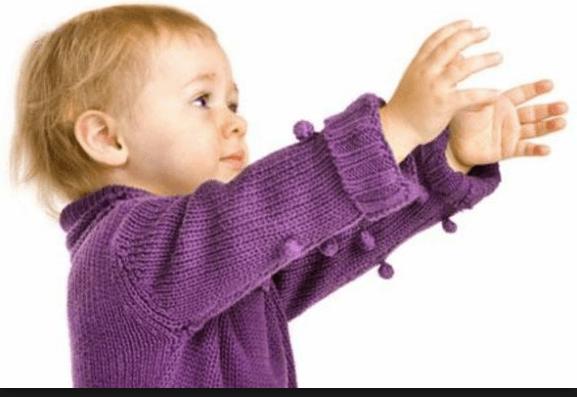 The Child Who Crawled Into Jesus' Lap