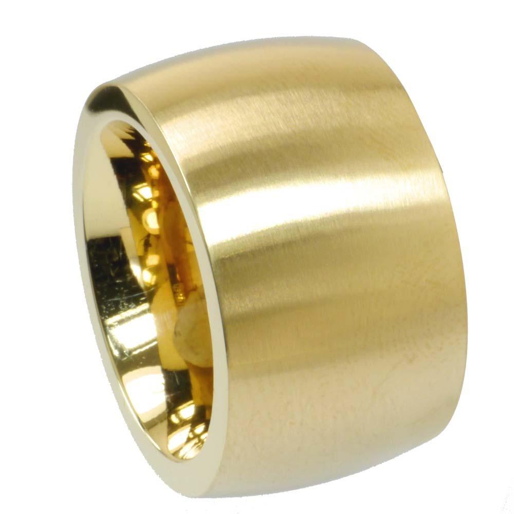 Bandring PVD Gold 15 mm
