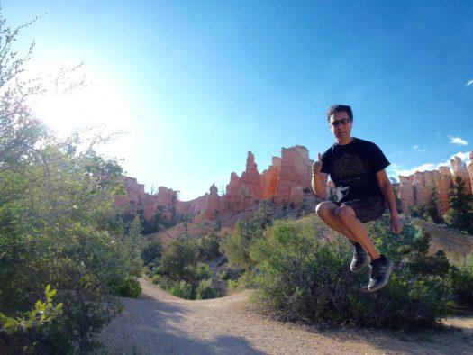 Jumping Bryce