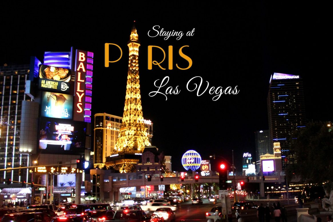 PARIS LAS VEGAS - THE STRIP AT NIGHT