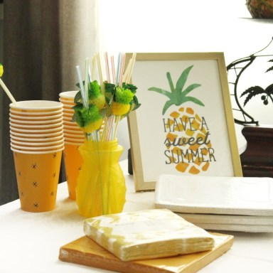 PINEAPPLE THEME PARTY 8