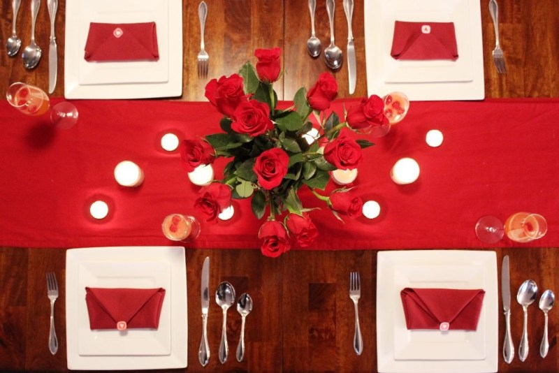 Valentines Day Tablescape 6