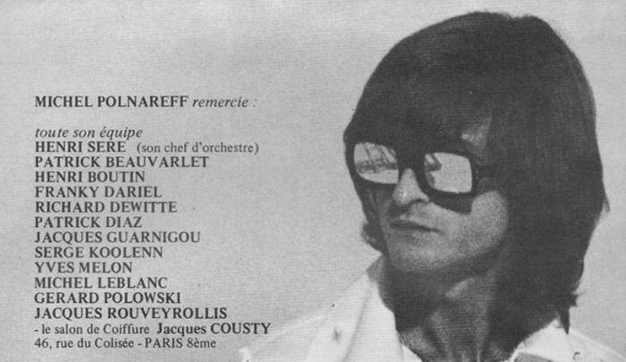 Richard Dewitte Batteur de Polnareff